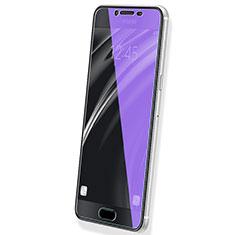 Samsung Galaxy C5 SM-C5000用アンチグレア ブルーライト 強化ガラス 液晶保護フィルム B02 サムスン ネイビー