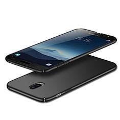 Samsung Galaxy C7 (2017)用ハードケース プラスチック 質感もマット M02 サムスン ブラック
