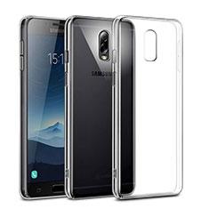 Samsung Galaxy C7 (2017)用ハードケース クリスタル クリア透明 サムスン クリア