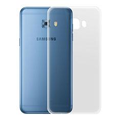 Samsung Galaxy C7 Pro C7010用極薄ソフトケース シリコンケース 耐衝撃 全面保護 クリア透明 カバー サムスン クリア