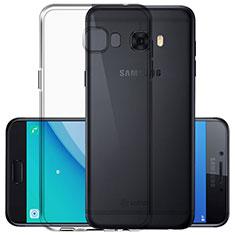Samsung Galaxy C7 Pro C7010用極薄ソフトケース シリコンケース 耐衝撃 全面保護 クリア透明 サムスン クリア
