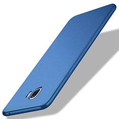 Samsung Galaxy C7 Pro C7010用極薄ソフトケース シリコンケース 耐衝撃 全面保護 サムスン ネイビー