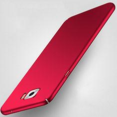Samsung Galaxy C7 Pro C7010用ハードケース プラスチック 質感もマット サムスン レッド
