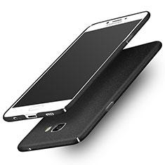 Samsung Galaxy C7 Pro C7010用ハードケース カバー プラスチック サムスン ブラック