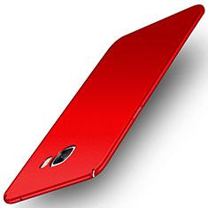 Samsung Galaxy C7 Pro C7010用ハードケース プラスチック 質感もマット M01 サムスン レッド