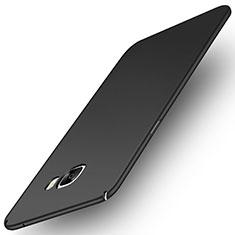Samsung Galaxy C7 Pro C7010用ハードケース プラスチック 質感もマット M01 サムスン ブラック