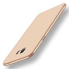 Samsung Galaxy C7 Pro C7010用極薄ソフトケース シリコンケース 耐衝撃 全面保護 S01 サムスン ゴールド