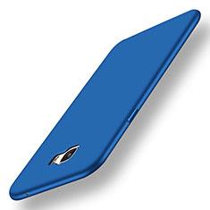 Samsung Galaxy C7 Pro C7010用極薄ソフトケース シリコンケース 耐衝撃 全面保護 S01 サムスン ネイビー