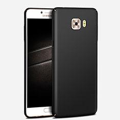 Samsung Galaxy C7 Pro C7010用ハードケース プラスチック 質感もマット M03 サムスン ブラック