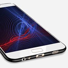 Samsung Galaxy C7 Pro C7010用極薄ソフトケース シリコンケース 耐衝撃 全面保護 S02 サムスン ブラック