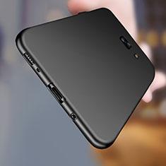 Samsung Galaxy C7 Pro C7010用極薄ソフトケース シリコンケース 耐衝撃 全面保護 S03 サムスン ブラック