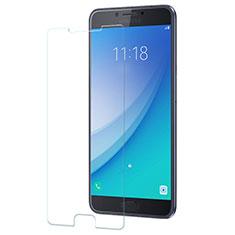 Samsung Galaxy C7 Pro C7010用強化ガラス 液晶保護フィルム サムスン クリア