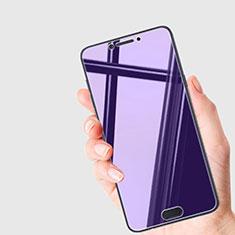 Samsung Galaxy C7 Pro C7010用アンチグレア ブルーライト 強化ガラス 液晶保護フィルム B01 サムスン ネイビー