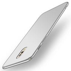 Samsung Galaxy C8 C710F用ハードケース プラスチック 質感もマット サムスン シルバー