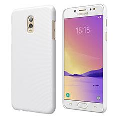 Samsung Galaxy C8 C710F用ハードケース プラスチック 質感もマット M04 サムスン ホワイト
