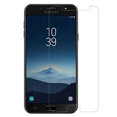 Samsung Galaxy C8 C710F用強化ガラス 液晶保護フィルム サムスン クリア