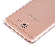 Samsung Galaxy C9 Pro C9000用極薄ソフトケース シリコンケース 耐衝撃 全面保護 クリア透明 カバー サムスン クリア