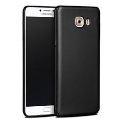 Samsung Galaxy C9 Pro C9000用ハードケース プラスチック 質感もマット サムスン ブラック
