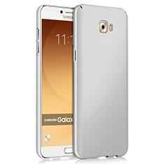 Samsung Galaxy C9 Pro C9000用ハードケース プラスチック 質感もマット サムスン ホワイト