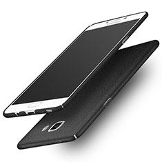 Samsung Galaxy C9 Pro C9000用ハードケース プラスチック カバー サムスン ブラック