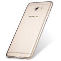 Samsung Galaxy C9 Pro C9000用極薄ソフトケース シリコンケース 耐衝撃 全面保護 クリア透明 T06 サムスン クリア