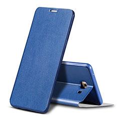 Samsung Galaxy C9 Pro C9000用手帳型 レザーケース スタンド カバー サムスン ネイビー