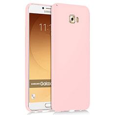 Samsung Galaxy C9 Pro C9000用ハードケース プラスチック 質感もマット M04 サムスン ピンク