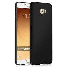 Samsung Galaxy C9 Pro C9000用ハードケース プラスチック 質感もマット M04 サムスン ブラック