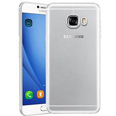 Samsung Galaxy C9 Pro C9000用極薄ソフトケース シリコンケース 耐衝撃 全面保護 クリア透明 T10 サムスン クリア