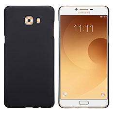 Samsung Galaxy C9 Pro C9000用ハードケース プラスチック 質感もマット M05 サムスン ブラック