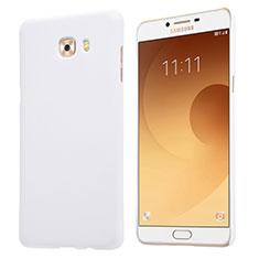 Samsung Galaxy C9 Pro C9000用ハードケース プラスチック 質感もマット M05 サムスン ホワイト