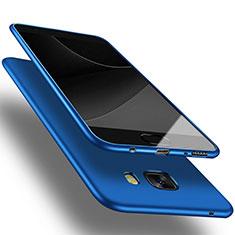 Samsung Galaxy C9 Pro C9000用極薄ソフトケース シリコンケース 耐衝撃 全面保護 S03 サムスン ネイビー