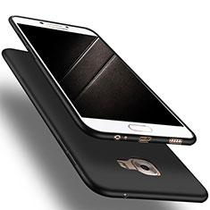 Samsung Galaxy C9 Pro C9000用極薄ソフトケース シリコンケース 耐衝撃 全面保護 S03 サムスン ブラック