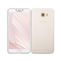 Samsung Galaxy C9 Pro C9000用ハードカバー クリスタル クリア透明 サムスン クリア