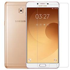 Samsung Galaxy C9 Pro C9000用強化ガラス 液晶保護フィルム T04 サムスン クリア
