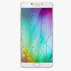 Samsung Galaxy C9 Pro C9000用強化ガラス 液晶保護フィルム R02 サムスン クリア