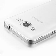 Samsung Galaxy Core Prime G360F G360GY用極薄ソフトケース シリコンケース 耐衝撃 全面保護 クリア透明 サムスン クリア