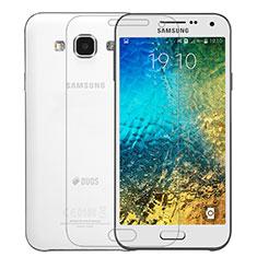 Samsung Galaxy E5 SM-E500F E500H用強化ガラス 液晶保護フィルム サムスン クリア