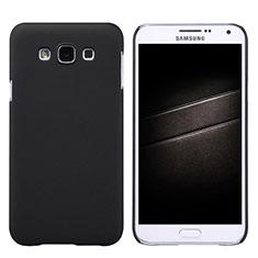 Samsung Galaxy E7 SM-E700 E7000用ハードケース プラスチック 質感もマット サムスン ブラック