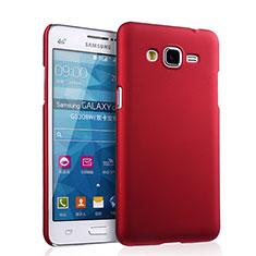 Samsung Galaxy Grand Prime 4G G531F Duos TV用ハードケース プラスチック 質感もマット サムスン レッド