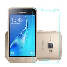 Samsung Galaxy J1 (2016) J120F用強化ガラス 液晶保護フィルム サムスン クリア