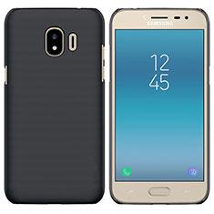 Samsung Galaxy J2 Pro (2018) J250F用ハードケース プラスチック 質感もマット サムスン ブラック