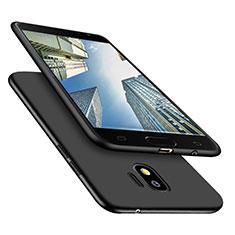Samsung Galaxy J2 Pro (2018) J250F用極薄ソフトケース シリコンケース 耐衝撃 全面保護 S02 サムスン ブラック