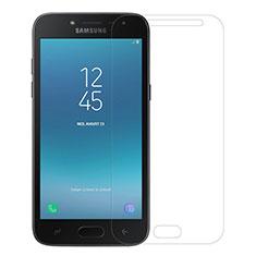 Samsung Galaxy J2 Pro (2018) J250F用強化ガラス 液晶保護フィルム サムスン クリア