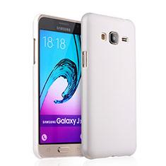 Samsung Galaxy J3 (2016) J320F J3109用ハードケース プラスチック 質感もマット サムスン ホワイト
