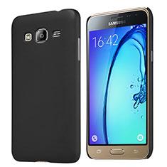 Samsung Galaxy J3 (2016) J320F J3109用ハードケース プラスチック 質感もマット M02 サムスン ブラック