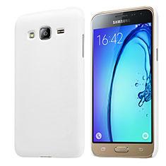 Samsung Galaxy J3 (2016) J320F J3109用ハードケース プラスチック 質感もマット M02 サムスン ホワイト