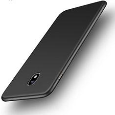 Samsung Galaxy J3 (2017) J330F DS用極薄ソフトケース シリコンケース 耐衝撃 全面保護 S01 サムスン ブラック