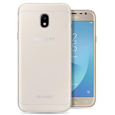 Samsung Galaxy J3 (2017) J330F DS用極薄ソフトケース シリコンケース 耐衝撃 全面保護 クリア透明 カバー サムスン クリア