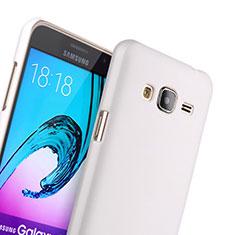 Samsung Galaxy J3用ハードケース プラスチック 質感もマット サムスン ホワイト